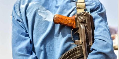 Äthiopische Sicherheitskräfte vertreiben, verhaften und töten Menschen. ©Shutterstock/lkpro
