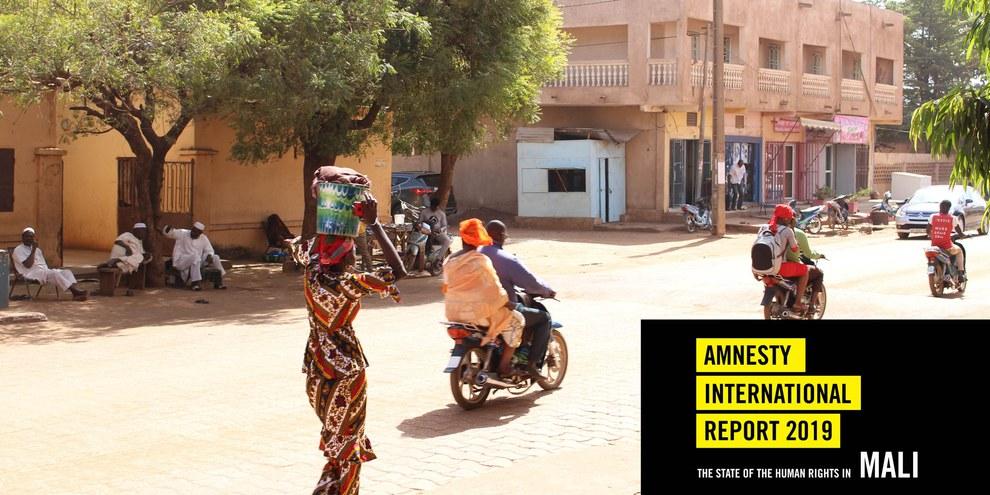 Ein Quartier in Bamako, der Hauptstadt Malis. ©  Carolinerre / wikimedia