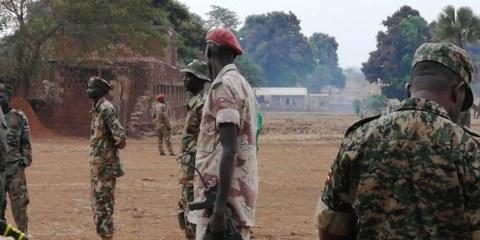 Eines der zwölf von Amnesty besuchten Militärcamps © AI