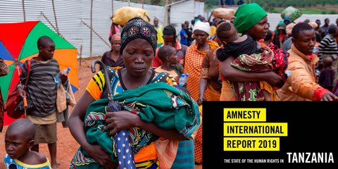 Tansania beherbergt viele Flüchtlinge aus Nachbarstaaten, so wie diese Frauen und Kinder, die im Oktober 2019 aus Burundi flohen.© AFP via Getty Images