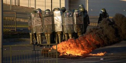 Die Berichte und Zeugnisse von Menschenrechtsverletzungen häufen sich. © Alex Maldonado Mancilla / shutterstock