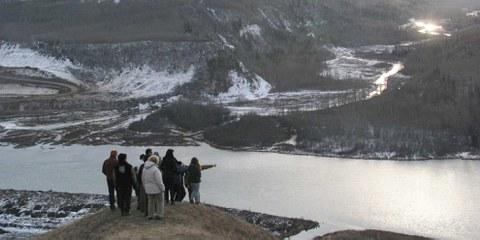 In der kanadischen Provinz British Columbia bedroht ein Staudammprojekt die Lebensgrundlage indigener Gemeinschaften: © Amnesty International Canada