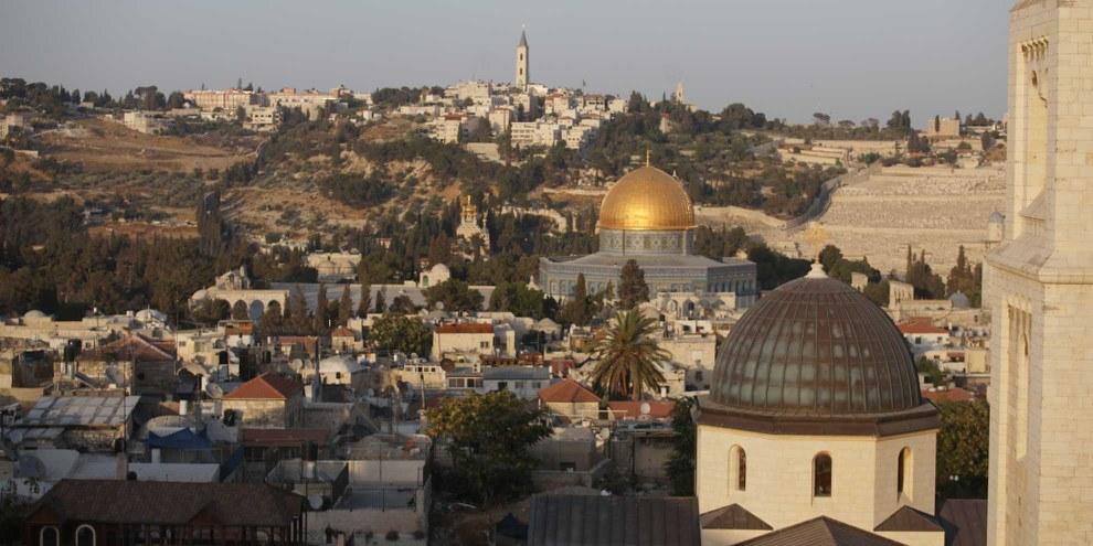Die Annexion Ostjerusalems von 1967 wird international nicht anerkannt. © Mostafa Alkharouf/Anadolu Agency/Getty Images
