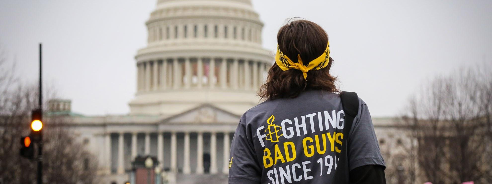 Women's March in Washington, 21. Januar 2017. © Amnesty International USA
