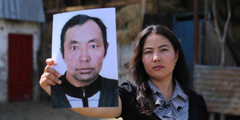 Der Vater von Bota Kussaiyn wurde in ein «Umerziehungslager» geschickt. © AI