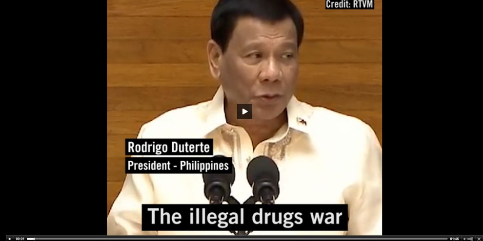 Dutertes «Krieg gegen die Drogen»