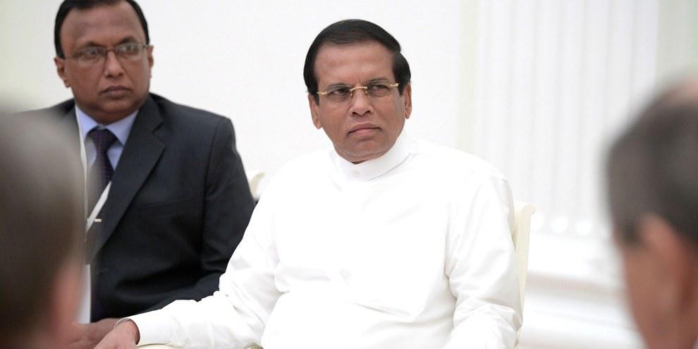 In Sri Lanka wurden seit 1976 keine Hinrichtungen mehr vollzogen. Im Juli 2018 aber hat der Präsident der Republik Sri Lanka, Maithripala Sirisena, angekündigt, dass zum Tod verurteilte DrogenhändlerInnen hingerichtet werden sollen.  © Kremlin.ru