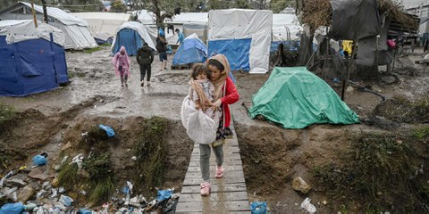 Griechenland: Flüchtlinge müssen dringend vor Covid-19 geschützt werden