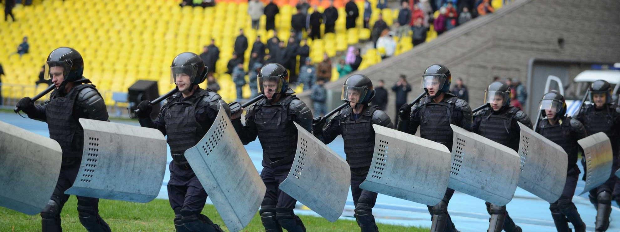 Russische Spezialeinheiten werden für die Mega-Sportanlässe wie die Olympischen Spiele in Sotschi oder die Fussball-WM 2018 trainiert. © ree Wind 2014 / Shutterstock.com