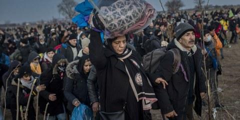 Flüchtlinge auf griechischen Inseln müssen evakuiert werden