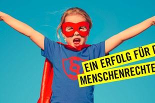 Schweizerinnen und Schweizer verteidigen in Volksabstimmung die Menschenrechte