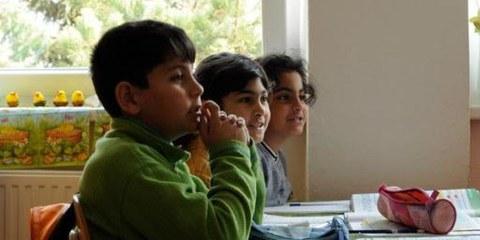Romakinder in der Schule. Slowakei. April 2010. © AI