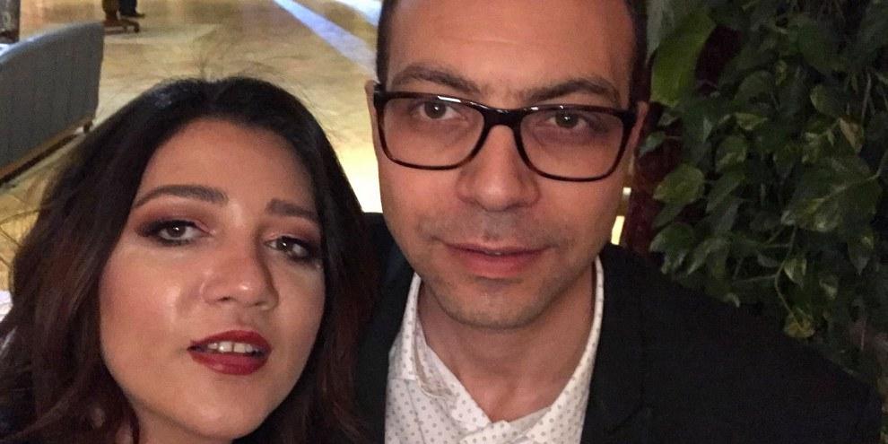 Amal Fathy und ihr Mann Mohamed Lotfy. Mohamed Lotfy ist in Genf aufgewachsen und hat dort studiert. Er und ihr gemeinsamer dreijähriger Sohn haben die Schweizer Staatsbürgerschaft.