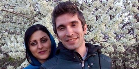 Arash Sadeghi mit seiner Ehefrau Golrokh Ebrahim Iraee © Privat