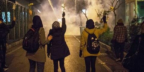 Massive Gewalt gegen Demonstrierende im Iran