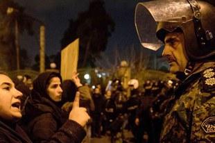 Freiheit für verhaftete Demonstrantinnen und Demonstranten im Iran