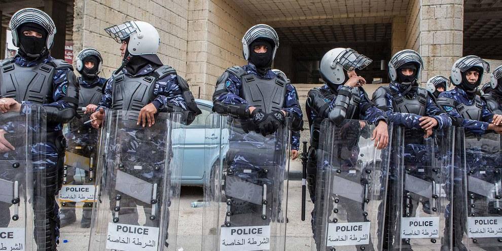 Sicherheitskräfte der palästinensischen Autonomiebehörde  © Edmée van Rijn