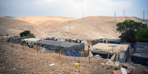 Soll israelischer Siedlung Platz machen: Khan al-Ahmar © Amnesty International (Photo: Richard Burton)