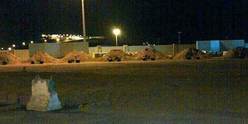 Auf diesen sieben Erdhügeln in der Stadt Abha wurden 2013 sieben Männer durch ein Erschiessungskommando hingerichtet.   © Privat