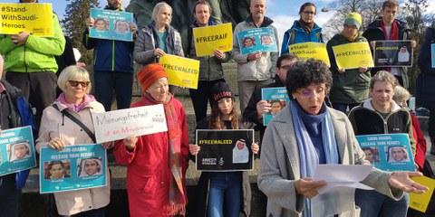 Weltweite Proteste für saudische Gewissensgefangene