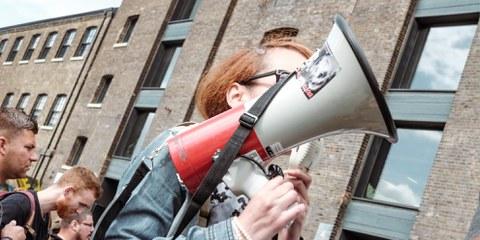 Gewaltfreier Widerstand: Ihre Rechte