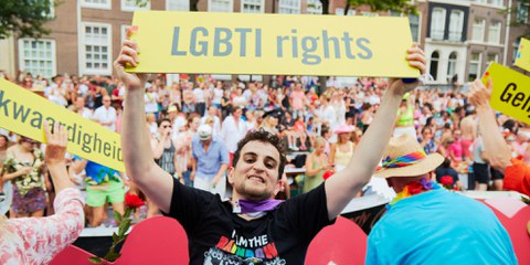 LGBTIQ+ Rechte sind Menschenrechte