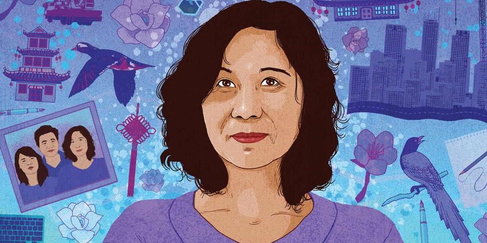 Ni Yulan, Menschenrechtsverteidigerin aus China © Rebecca Hendin