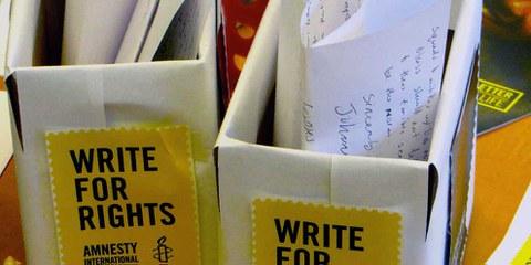 Briefe schreiben