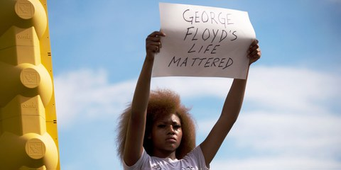 Gerechtigkeit für George Floyd