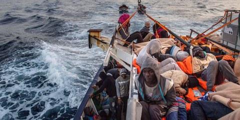 Februar 2017 vor der libyschen Küste © David Ramos/Getty Images