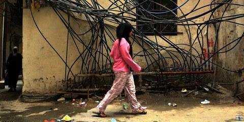Weibliche Flüchtlinge sind Opfer von sexueller Ausbeutung und Gewalt