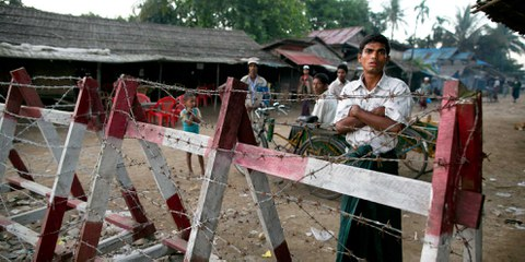 Apartheidregime gegen die Rohingya