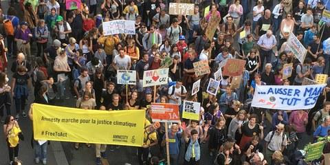 Demonstrationsfreiheit: Wichtiges Mittel für die Verteidigung der Menschenrechte