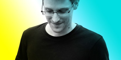 Er hat den USA und der Welt einen Gefallen getan: Edward Snowden. © RADIUS-TWC