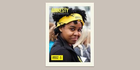 Der AMNESTY-Jahresbericht 2018