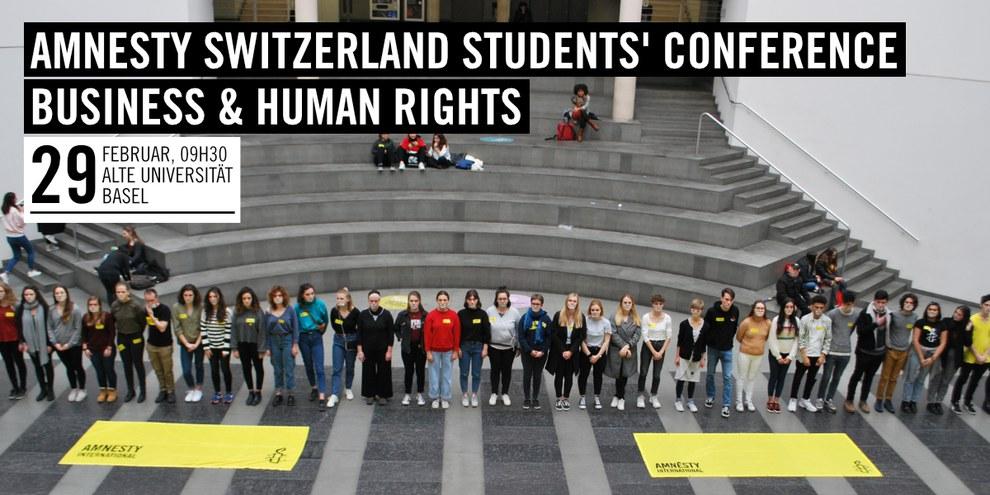 Amnesty Switzerland Students' Conference 2018 © Amnesty International