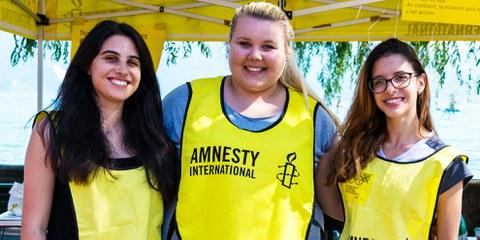 Gründe eine Amnesty-Gruppe!