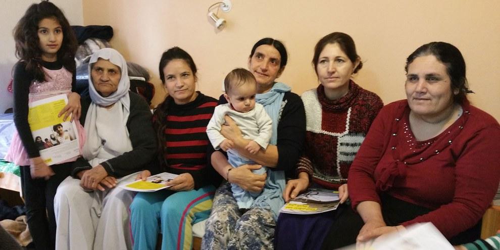 Aujourd'hui, la minorité religieuse yézidie tente de se reconstruire. © Amnesty International