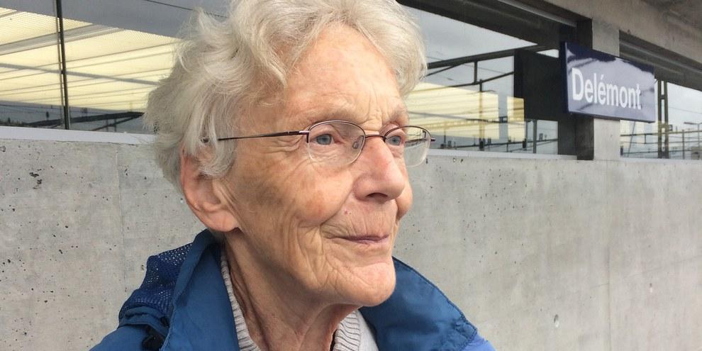 Le tribunal de district de Brigue a condamné Anni Lanz, défenseuse des migrants. © Julie Jeannet