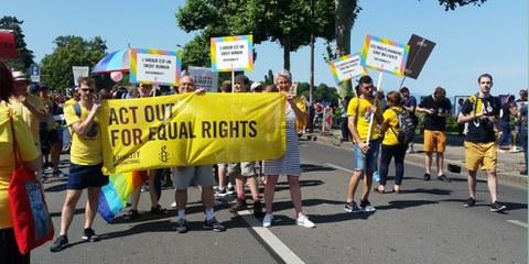 LGBTIQ – Mêmes droits !