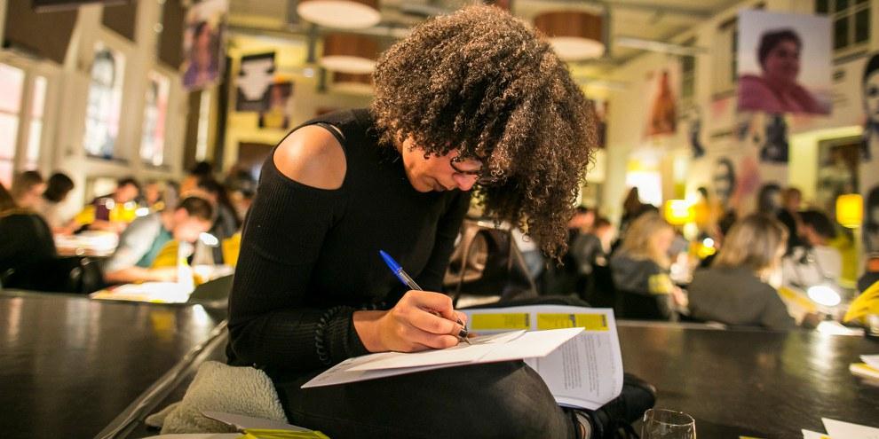 Marathon des lettres 2016, Amsterdam © Marieke Wijntjes / A