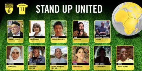 Une équipe de défenseur·e·s des droits humains