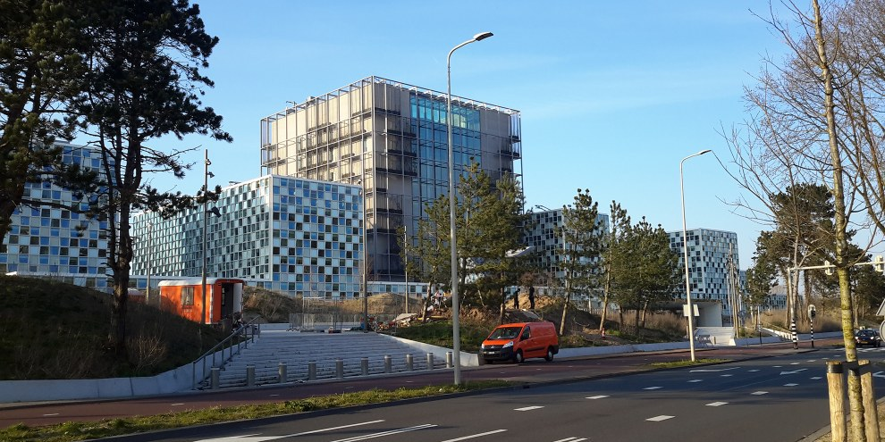Les bureaux de la Cour pénale internationale à La Haye, aux Pays-Bas. © Wikicommons