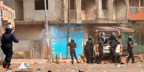 Des agents des forces de sécurité guinéennes ont tué ou blessé des civils sans arme entre le 8 et le 13 octobre, période électorale. © Droits réservés