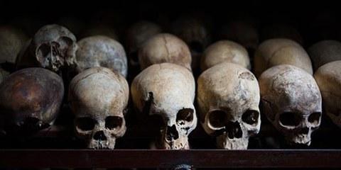 Environ 800 000 personnes ont été tuées lors du génocide rwandais de 1994. © PHIL MOORE/AFP/Getty Images