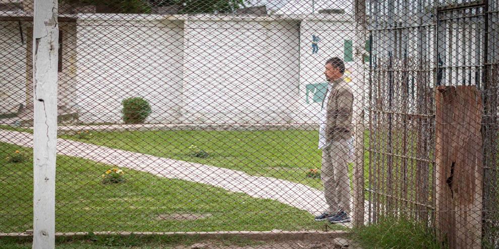 Jorge González Nieva, en détention provisoire depuis 2007 © Demian Marchi / Amnistía Internacional Argentina