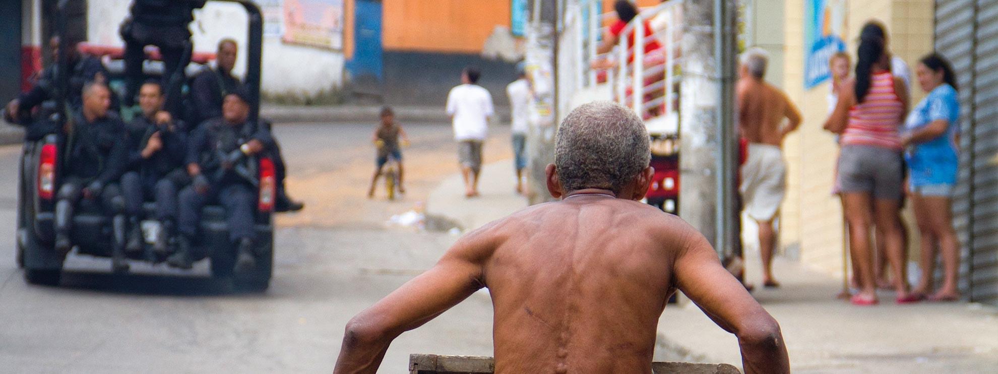 La favela Rocinha, à Rio de Janeiro, Brésil © Luiz Baltar/Amnesty International