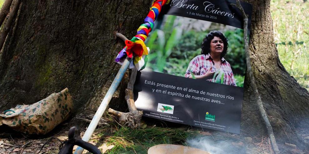 Amnesty International assistera en tant qu'observateur au procès pour le meurtre de Berta Cáceres ©Amnesty International (Photography taken by Anaïs Taracena)
