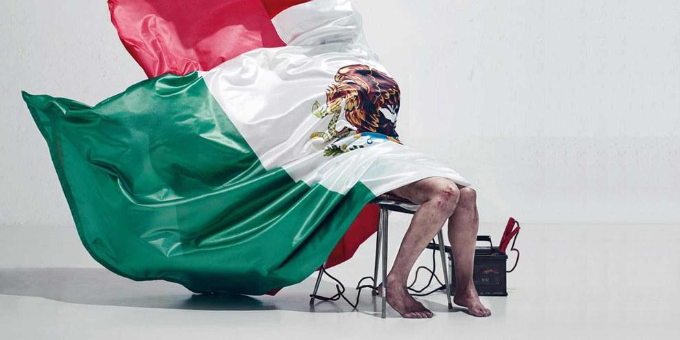 Campagne d'Amnesty Espagne contre la torture au Mexique. © Amnesty International