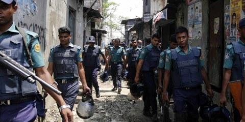 La lutte contre la drogue au Bangladesh coûte au moins une vie humaine par jour. © AFP / Getty
